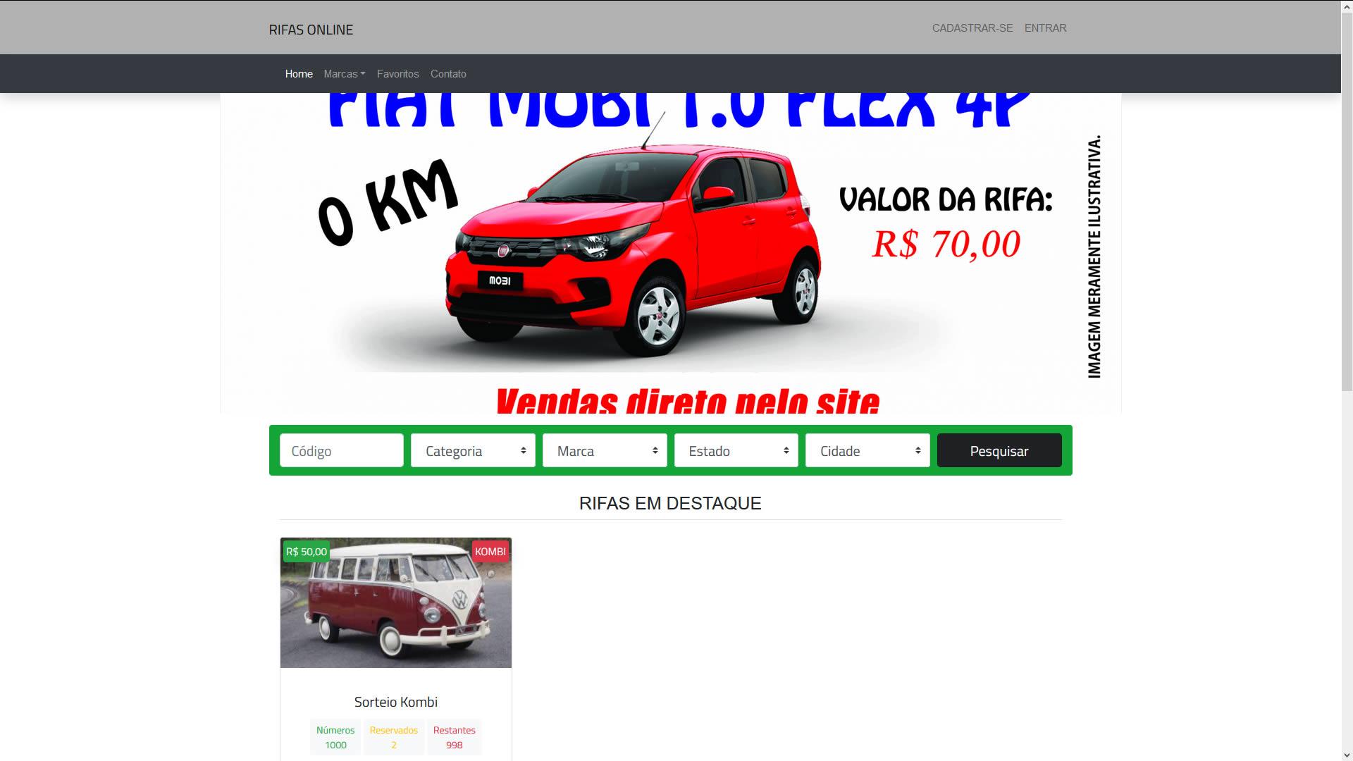 Sistema de Rifas Online 2 off