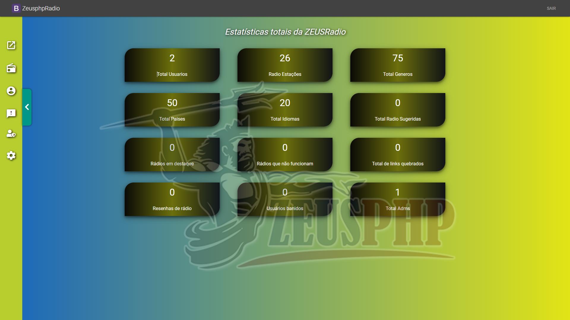 Site Portal de Radios Online Play
